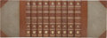 Books:Fiction, William Shakespeare. The Works of William Shakespeare. London: Macmillan and Co., 1891-1895.. Third edition. Nine ... (Total: 9 Items)