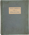 "Books:First Editions, [Disney]. Walt Disney's Pinocchio, Adapted from""Adventures of Pinocchio"" by C. Collodi. London: Collins,[1939]..."