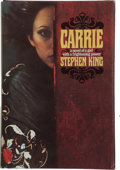 "Books:Signed Editions, Stephen King. Carrie. New York: Doubleday & Company,Inc., 1974.. First edition, first impression, with code ""P6"" ..."