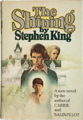 "Books:Signed Editions, Stephen King. The Shining. Garden City, New York: Doubleday& Company, Inc., 1977.. First edition with ""R49"" i..."