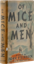 Books:First Editions, John Steinbeck. Of Mice and Men. New York: Covici FriedePublishers, [1937].. First edition, first issue, with bul...