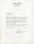 Baseball Collectibles:Others, 1951 Bill McGowan Signed Document....