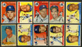 Baseball Cards:Lots, 1954 Red Heart and 1955 Topps New York Yankees Collection (29) With Mantle. ...