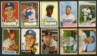 1952-1955 Topps and Bowman Baseball Collection (22) With Many HoFers