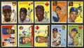 Baseball Cards:Lots, 1954 and 1955 Topps Baseball Collection (18) With Many HoFers. ...