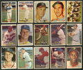 Baseball Cards:Lots, 1957 Topps Baseball Hall of Famers Collection (15). ...