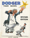 """Baseball Collectibles:Publications, 1955 Brooklyn Dodgers """"Revised"""" Yearbook...."""