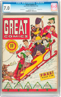 Golden Age (1938-1955):Miscellaneous, Great Comics #2 (Great Comics Publications, 1941) CGC FN/VF 7.0 Cream to off-white pages....
