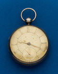 Timepieces:Pocket (pre 1900) , Swiss Sterling Lever Fusee. ...