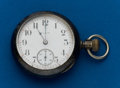 Timepieces:Pocket (post 1900), Elgin Patented Invisible Hinge 18 Size Coin Case. ...