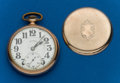 Timepieces:Pocket (post 1900), Illinois 21 Jewel, Sixty Hour Bunn Special. ...