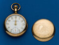 Timepieces:Pocket (post 1900), Waltham, 18 Size, Fancy Dial. ...