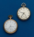 Timepieces:Pocket (post 1900), Two - Illinois, 12 Size Pocket Watches. ... (Total: 2 Items)