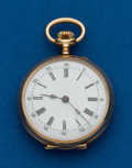 Timepieces:Pocket (post 1900), Swiss, 32 mm, 14k, Open Face. ...