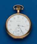 Timepieces:Pocket (post 1900), Elgin, 16 Size, 17 Jewel . ...