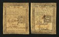 Colonial Notes:Pennsylvania, Pennsylvania April 3, 1772 18d Very Fine.. Pennsylvania October 25,1775 18d Very Fine.. ... (Total: 2 notes)