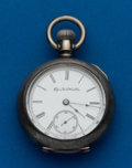 Timepieces:Pocket (post 1900), Elgin, 5 Oz. Coin, 18 Size. ...