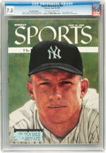Magazines:Sports, Sports Illustrated V4#25 (Time Inc., 1956) CGC VF- 7.5 Off-white to white pages....
