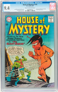 Silver Age (1956-1969):Science Fiction, House of Mystery #143 (DC, 1964) CGC NM 9.4 Cream to off-white pages....