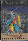 Books:First Editions, Robert Coover. Pinocchio in Venice. New York, et al.: LindenPress / Simon & Schuster, [1991]. First edition. Publis...