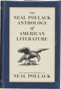 Books:Signed Editions, Neal Pollack. The Neal Pollack Anthology of American Literature. [Brooklyn, NY]: McSweeney's Books, [2000]. First ed...