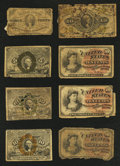Fractional Currency:Third Issue, Fourteen Low-Grade Fractionals.. ... (Total: 14 notes)