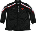 Basketball Collectibles:Uniforms, 1999-2001 Elton Brand Game Worn Warm-Up Jacket. From his first twoseasons in the League, we offer this fantastic game worn...