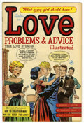 Golden Age (1938-1955):Romance, True Love Problems and Advice Illustrated #4 File Copy (Harvey,1949) Condition: VF....