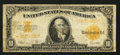 Large Size:Gold Certificates, Fr. 1173 $10 1922 Gold Certificate Good.. ...