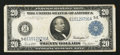 Large Size:Federal Reserve Notes, Fr. 983a $20 1914 Federal Reserve Note Fine.. ...
