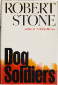 Books:Signed Editions, Robert Stone. Dog Soldiers. A Novel. Boston: Houghton Mifflin Company, 1974. First edition. Signed by the auth...