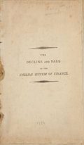 Books:First Editions, Thomas Paine. The Decline and Fall of the English System ofFinance. [Philadelphia: Printed by John Page...for B...
