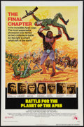 "Movie Posters:Science Fiction, Battle for the Planet of the Apes (20th Century Fox, 1973). One Sheet (27"" X 41""). Science Fiction.. ..."