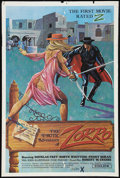 """Movie Posters:Adult, The Erotic Adventures of Zorro (Entertainment Ventures, Inc., 1972). One Sheet (27"""" X 41""""). Adult.. ..."""
