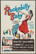 "Movie Posters:Rock and Roll, Rockabilly Baby (20th Century Fox, 1957). One Sheet (27"" X 41""). Rock and Roll.. ..."
