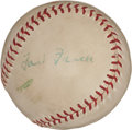 Autographs:Baseballs, 1959 Ford Frick Single Signed Baseball....