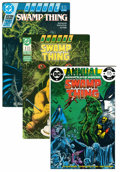 Modern Age (1980-Present):Superhero, Saga of the Swamp Thing Short Box Group (DC, 1982-93) Condition: Average VF....