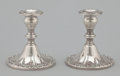 Silver & Vertu:Hollowware, A PAIR OF AMERICAN SILVER CANDLE STICKS . Gorham Manufacturing Co., Providence, Rhode Island, circa 1910. Marks: GORHAM, S... (Total: 2 Items Items)