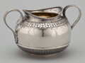 Silver Holloware, British:Holloware, A VICTORIAN SILVER AND SILVER GILT SUGAR BOWL . Richard Martin& Ebenezer Hall, Sheffield, England, 1899-1900. Marks:RM...