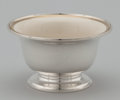 Silver Holloware, American:Bowls, AN AMERICAN SILVER BOWL WITH PORCELAIN LINER. S. Kirk & Son,Baltimore, Maryland, circa 1920. Marks: To silver bowl: S.KIR...(Total: 2 Items Items)