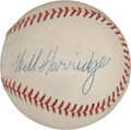 Autographs:Baseballs, Circa 1970 Will Harridge Signed Baseball....