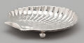 Silver Holloware, American:Bowls, AN AMERICAN SILVER SHELL-SHAPE BOWL . Gorham Manufacturing Co.,Providence, Rhode Island, 1955. Marks: GORHAM, (lion-anc...