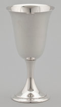Silver Holloware, American:Wine Goblet, A SET OF TEN AMERICAN SILVER GOBLETS . Alvin Corporation,Providence, Rhode Island, circa 1950. Marks: ALVIN STERLINGS249... (Total: 10 Items)