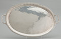Silver & Vertu:Hollowware, A MEXICAN SILVER TRAY. Unidentified maker, probably Taxco, Mexico, circa 1960. Marks: MAP 925 STERLING HECHO EN MEXICO. ... (Total: 1 Item Items)