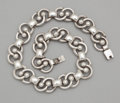 Silver & Vertu:Smalls & Jewelry, A MEXICAN SILVER NECKLACE . Maker unidentified, Taxco, Mexico, circa 1950. Marks: STERLING 980 TAXCO MEXICO (circling) ...