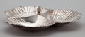 Silver Holloware, American:Bowls, AN AMERICAN SILVER DIVIDED SHELL-FORM SERVING DISH . InternationalSilver Co., Meriden, Connecticut, circa 1950. Marks: (eag...