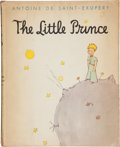 Books:Signed Editions, Antoine de Saint-Exupéry. The Little Prince. New York:Reynal & Hitchcock, [1943].. First edition, limited to ...