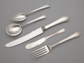 Silver Flatware, American:Other , AN AMERICAN SILVER FLATWARE SERVICE . Richard Dimes Company, SouthBoston, Massachusetts, circa 1929. Marks: RD, STERLING,...