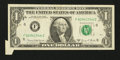 Error Notes:Attached Tabs, Fr. 1907-F $1 1969D Federal Reserve Note. Very Fine-ExtremelyFine.. ...