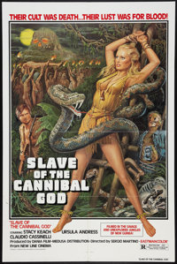"Slave of the Cannibal God (New Line, 1979). One Sheet (27"" X 41""). Adventure"